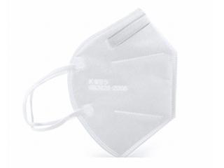 FFP2 masker, synthetische papier, wit, doos met 4 x 5 stuks